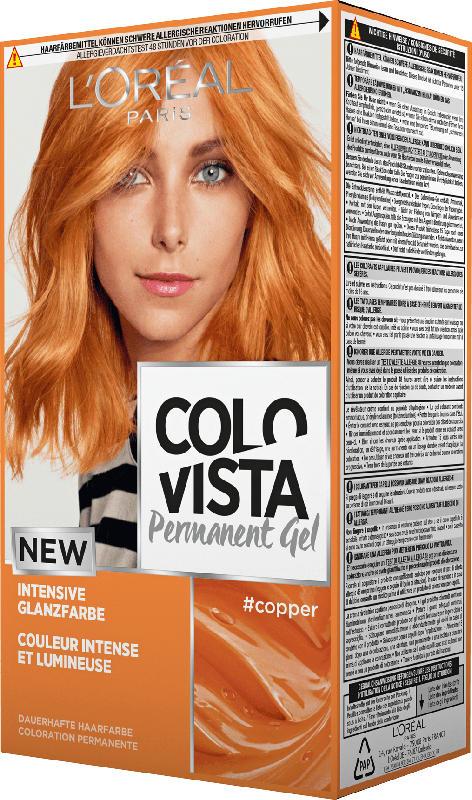L'Oréal Colovista Haarfarbe #copper (Kupfer)