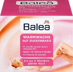 Balea Warmwachs auf Zuckerbasis