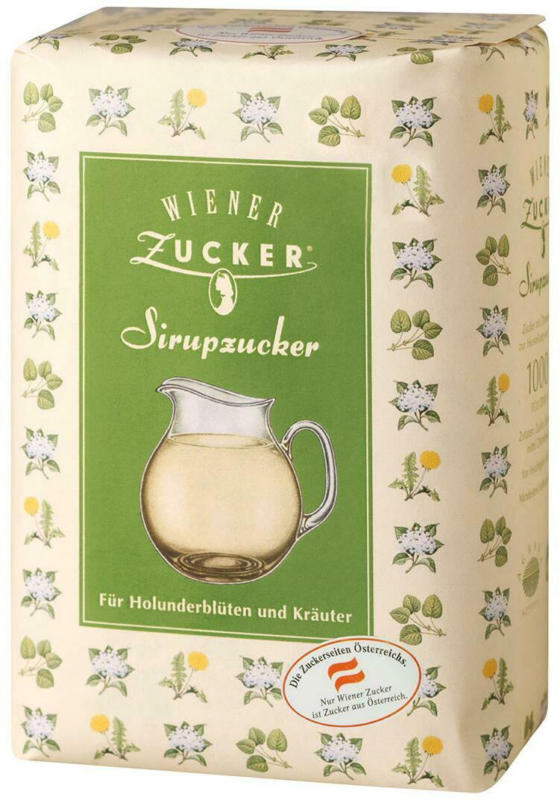 Wiener Zucker Sirupzucker Holunder&Kräuter