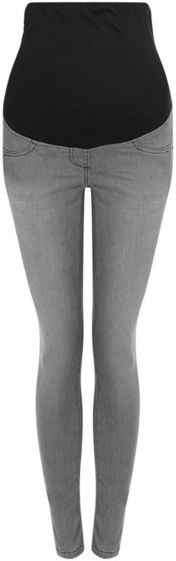 Damen Umstands-Jeggings mit Used-Waschung