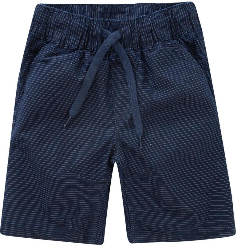 Jungen Shorts mit feinen Streifen (Nur online)