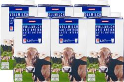 Denner Vollmilch, UHT, 3,5% Fett, 6 x 1 Liter