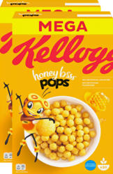 Kellogg's Honey Bsss Pops, 2 x 600 g
