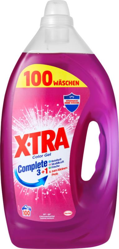 X-tra Gel color, 100 Waschgänge, 5 Liter