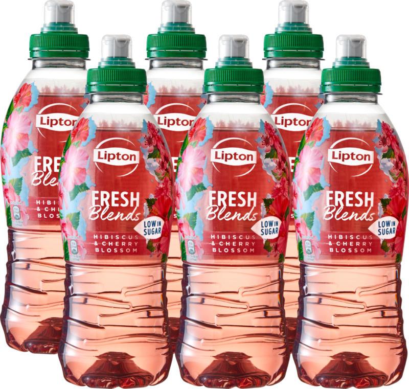 Lipton Fresh Blends Hibiscus & Cherry Blossom, 6 x 70 cl