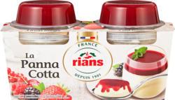 Rians Panna Cotta, Rote Früchte, 2 x 120 g