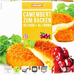 Denner Camembert zum Backen, 8 Stück, 600 g