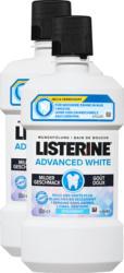Listerine Mundspülung Advanced White mild, 2 x 500 ml