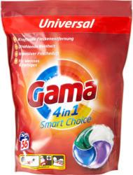 Gama Waschmittel 4 in 1 Pods Smart Choice, 56 Pods