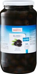 Majestic Oliven, schwarz, ohne Stein, 450 g