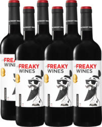 Freaky Wines Tempranillo Vino de la Tierra de Castilla , 2020, Tierra de Castilla, Espagne, 6 x 75 cl