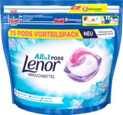 Lenor All-in-1 Pods Aprilfrisch, 75 Pods