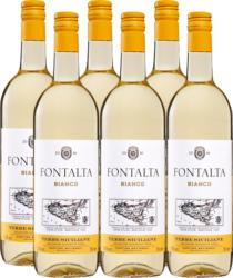 Fontalta Bianco Terre Siciliane IGT, 2020, Sizilien, Italien, 6 x 75 cl