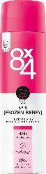 8x4 women Deo Spray Deodorant No.15 Frozen Berry
