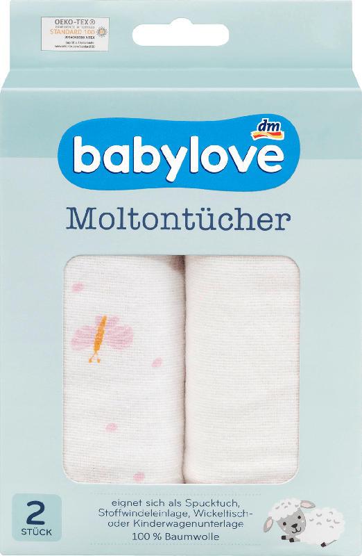 babylove Moltontücher Schmetterling