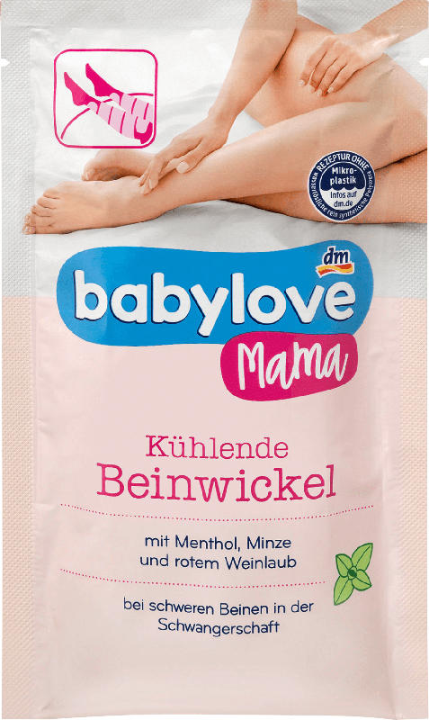 babylove kühlende Beinwickel