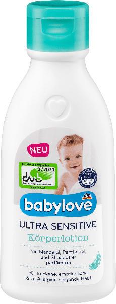 babylove Ultra Sensitive Körperlotion
