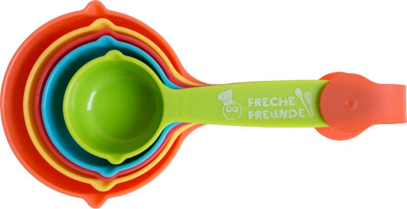 Freche Freunde Messbecher-Set 5 cups
