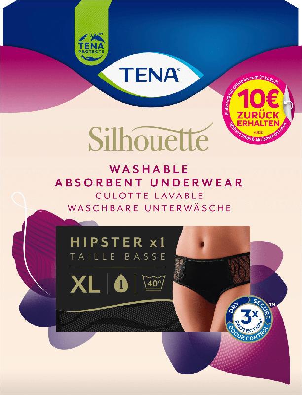 TENA Blasenschwäche-Unterwäsche Silhouette Hipster waschbar Größe XL