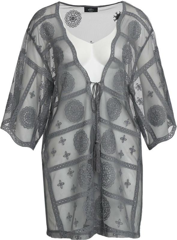 Damen Kimono aus Vollspitze