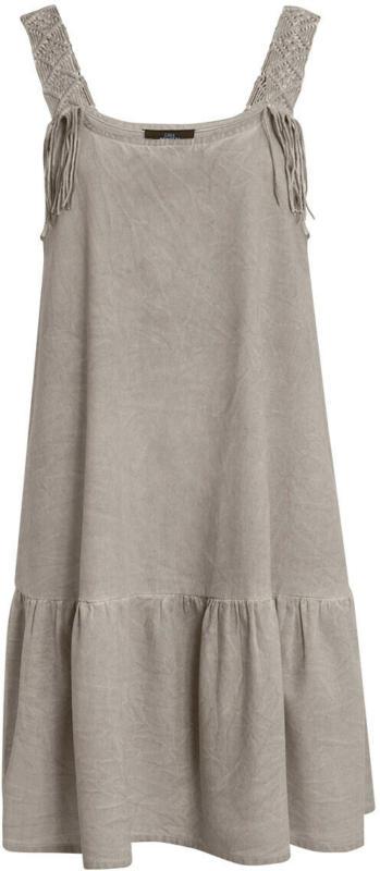 Damen Kleid mit Oil-Washed-Effekt (Nur online)