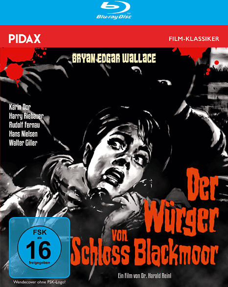 Der Würger von Schloss Blackmoor [Blu-ray]