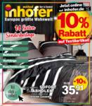 Möbel Inhofer Möbel Inhofer - Sonderbeilage Heimtextilien - bis 20.05.2021