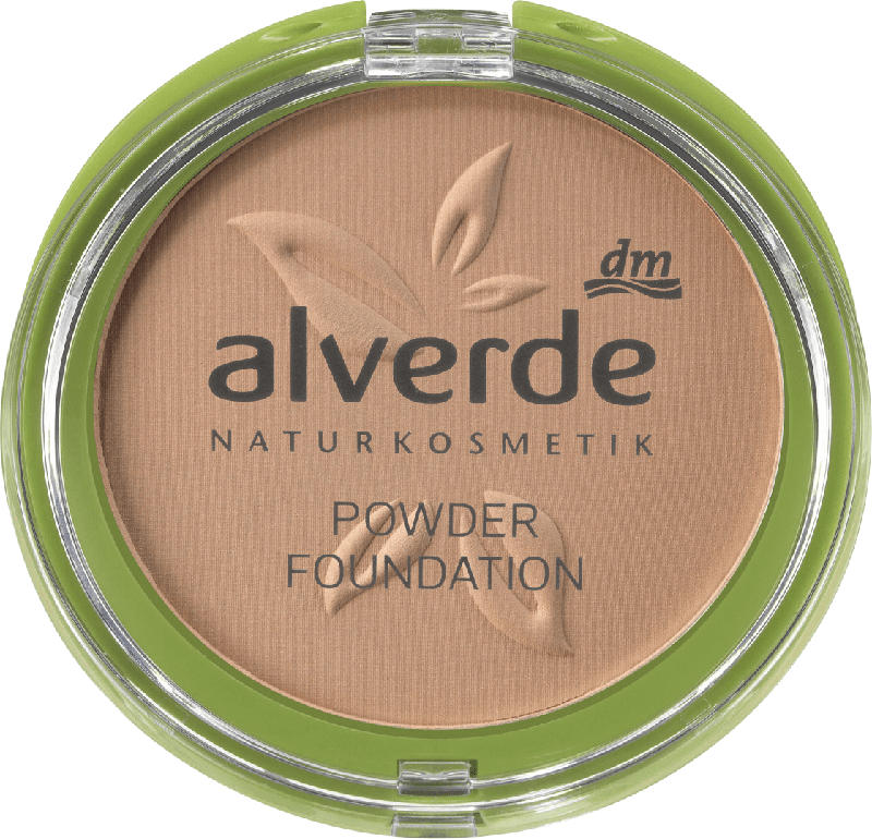 alverde NATURKOSMETIK Make-up Powder Foundation 40 Ashy Nude