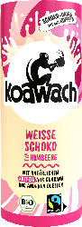 koawach Schoko-Drink, Kakao & Guarana mit weißer Schokolade & Himbeere