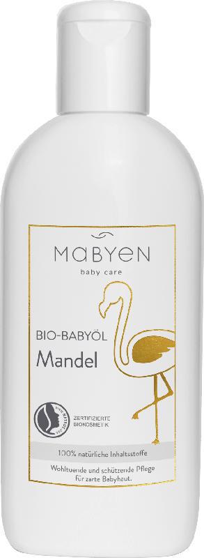 Mabyen Bio-Babyöl Mandel