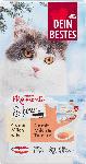 dm-drogerie markt Dein Bestes Wintermomente Schnurr, Snack für Katzen, 4 x mit Milch und Ei, 4 x mit Milch und Tomate, 8 St