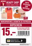 OTTO'S Beauty Shop GUTSCHEIN - OTTO'S Beauty Shops - bis 15.05.2021