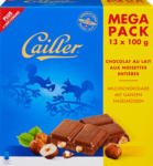 Denner Tavoletta di cioccolata Cailler, Latte, nocciole intere, 13 x 100 g - al 18.10.2021