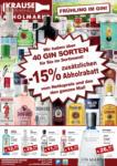 Getränkehaus Krause & Vinothek Weinblatt Getränkehaus Krause Flugblatt - Mai 2021 - bis 31.05.2021