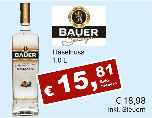 Bauer Haselnuss