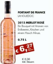 Merlot Rosé 2015