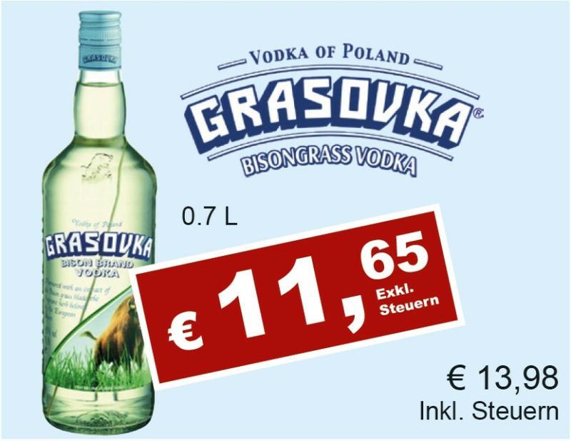 Grasovka Bisongrass Vodka
