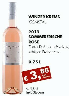 Sommerfrische Rosé 2019