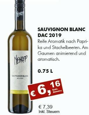 Sauvignon Blanc DAC 2019