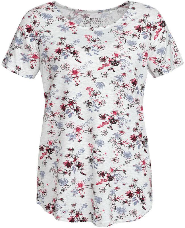 Damen T-Shirt mit floralem Print (Nur online)
