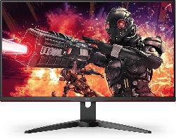 Gaming Monitor U28G2AE/BK, 28 Zoll, 4K UHD, 60Hz, 1ms, IPS, 300cd, 89% Adobe RGB, Schwarz/Rot