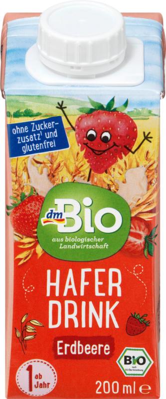 dmBio Haferdrink Erdbeere ab 1 Jahr