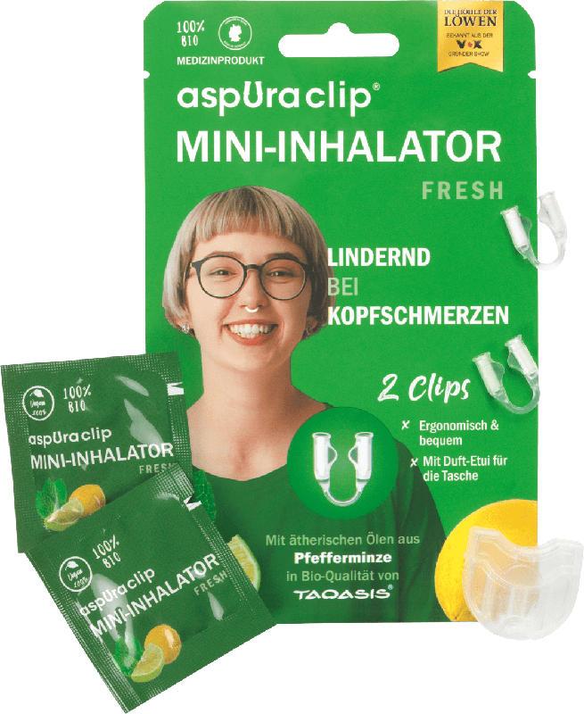 aspura clip Mini-Inhalator Fresh