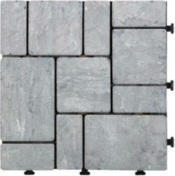 Terrassenfliese Stone in Grau ca. 30x30cm