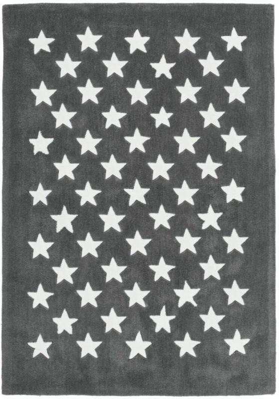 "Kurzflorteppich ""Cameroon - Mora Grau"", 120x170cm"