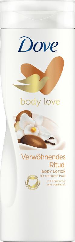 Dove Bodylotion Verwöhnendes Ritual mit Sheabutter und Vanilleduft