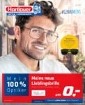 H-Haus St.Pölten Hartlauer Flugblatt - Optik/Hörgeräte - bis 31.05.2021