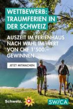 Wettbewerb: Ferien in der Schweiz