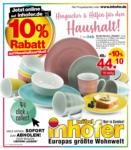 Möbel Inhofer Hingucker & Hilfen für den Haushalt! - bis 20.05.2021