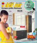 Möbel Inhofer Möbel Inhofer - Badezimmer Spezial - bis 20.05.2021